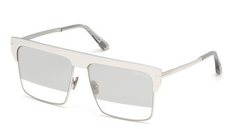 Tom Ford West Two-Tone Mirrored Square Sunglasses