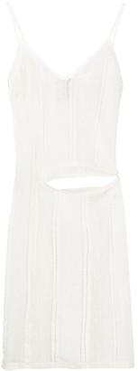 Ann Demeulemeester Cut-Out Lace Dress