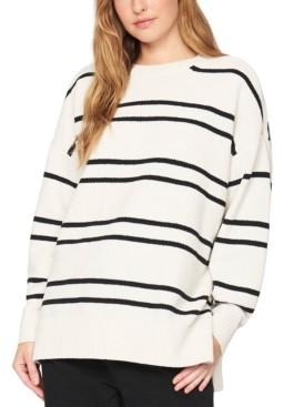 Sanctuary Everyday Striped Tunic Sweater