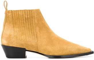 AEYDĒ Suede Ankle Boots