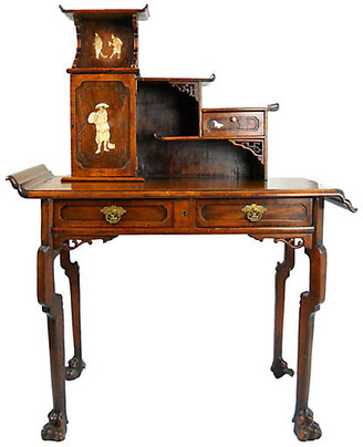 One Kings Lane Vintage 19th-C. French Japonisme Desk - Acquisitions Gallerie