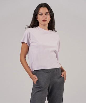 Atm Classic Jersey Short Sleeve Boy Tee - Lavender