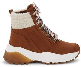 Kensie Crown Faux Fur-Lined Boots