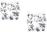 Sterling Silver Cubic Zirconia Stud Earrings (1 ct. t.w.)