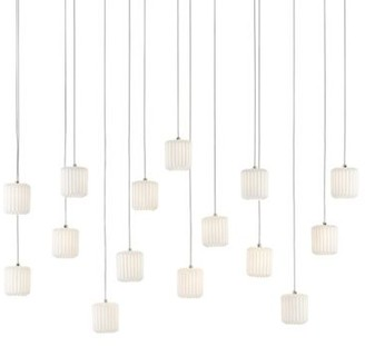 Currey & Company Dove Linear Multi-Light Pendant Light
