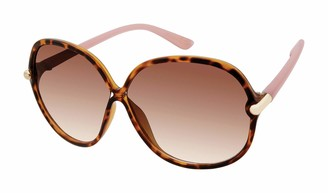 Tahari Women's TH745 Oval Shaped Sunglasses with 100% UV Protection 63 mm
