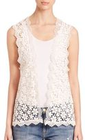 The Kooples Lace Vest