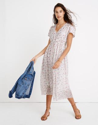 Madewell x Christy Dawn Dawn Midi Dress in Damask Rose