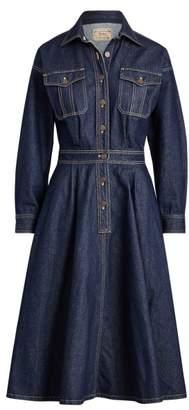 Ralph Lauren Denim Long-Sleeve Shirtdress