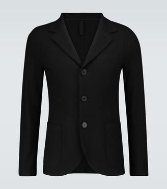 Harris Wharf London Single-breasted virgin wool blazer
