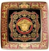 Versace Medusa Red Square Dish 12cm