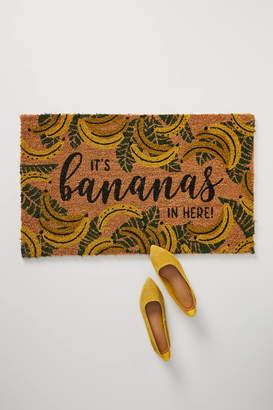 Anthropologie It's Bananas in Here Doormat