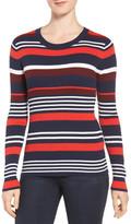 Halogen Graphic Pullover (Petite)