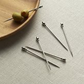 Crate & Barrel Set of 6 Cocktail Picks