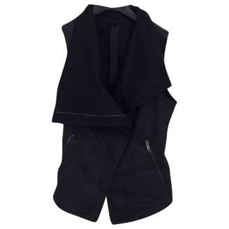 Gareth Pugh Black Denim - Jeans Leather Jacket for Women