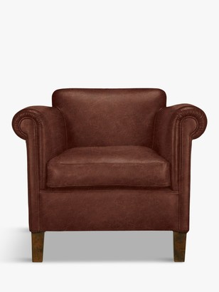 John Lewis & Partners Camford Leather Armchair