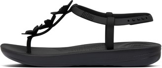 FitFlop iQUSHION Splash Flower Back-Strap Sandals