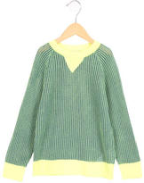 Stella McCartney Girls' Open Knit Long Sleeve Sweater