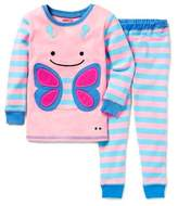 Skip Hop SKIP*HOP® ZOOJAMASTM Butterfly Long-Sleeve Pajama in Pink