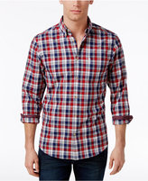 Ben Sherman Men's Plaid Cotton Shirt