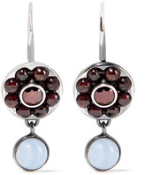 Bottega Veneta Sterling Silver Beaded Earrings - one size