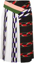 Emilio Pucci patchwork skirt - women - Silk/Viscose - 38