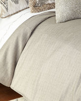 Isabella Collection Queen Ethos Gray Duvet Cover