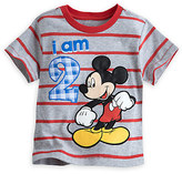 Disney Mickey Mouse ''I Am 2'' Birthday Tee for Boys - Gray