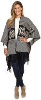 Pendleton Knit Blanket Shawl