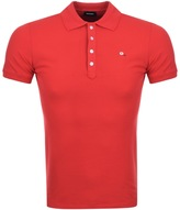 Diesel T Heal Polo T Shirt Red