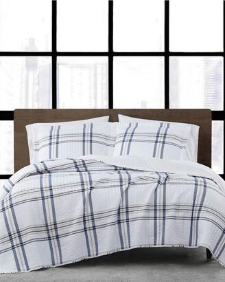 London Fog Kent Plaid Comforter Set