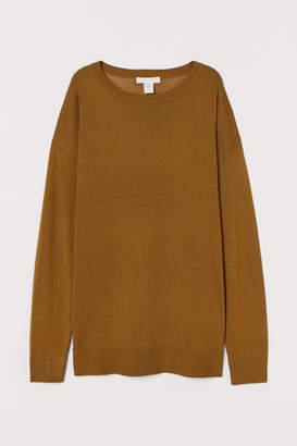 H&M Fine-knit Sweater - Yellow