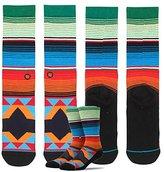 Stance Blue Mens Socks ~ San Blas