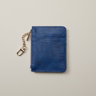 Love & Lore Love And Lore Keychain Wallet Cobalt Lizard