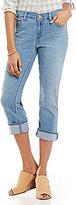 Levi's Cuffed Capri Jeans