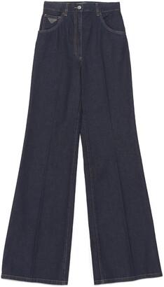 Prada Flared Denim Jeans