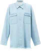 Marques Almeida Marques'almeida - denim shirt - women - Cotton - XS