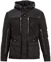 Givenchy Zip-trimmed padded nylon jacket