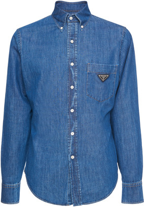 Prada Cotton-Chambray Shirt
