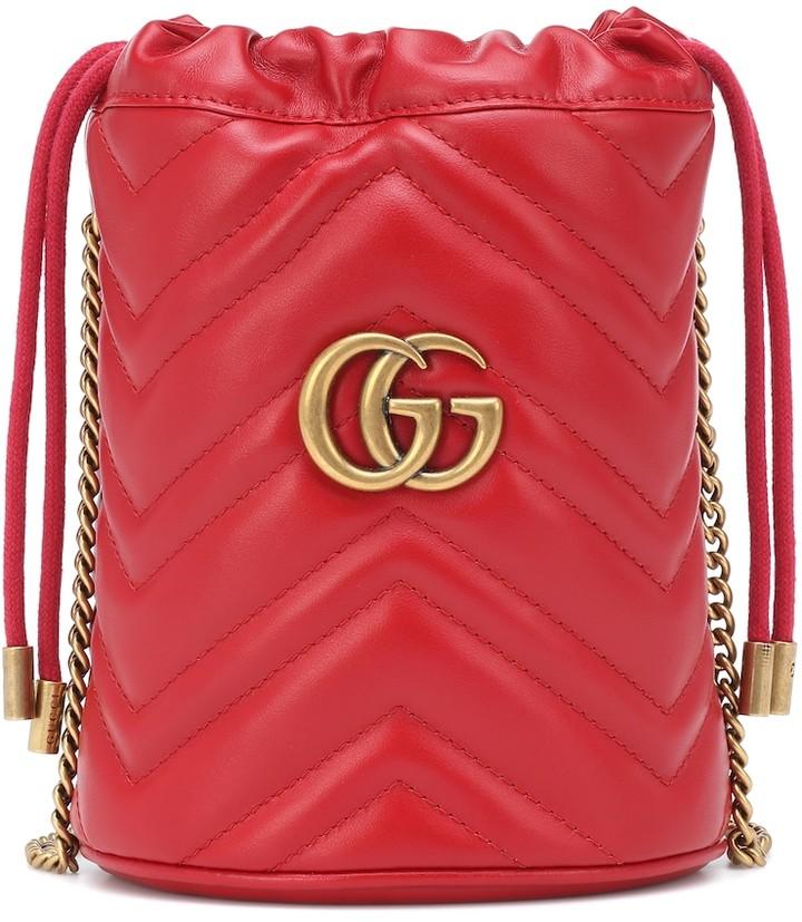 80f52d9e9 Gucci Marmont Mini Bag - ShopStyle
