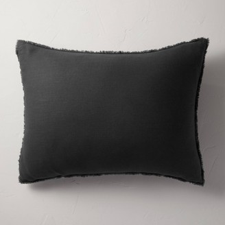 Heavyweight Linen Blend King Euro Throw Pillow - CasalunaTM