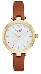 Kate Spade Holland Leather Strap Watch, 34mm