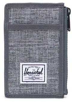 Herschel Oscar Key Wallet Poly Raven X