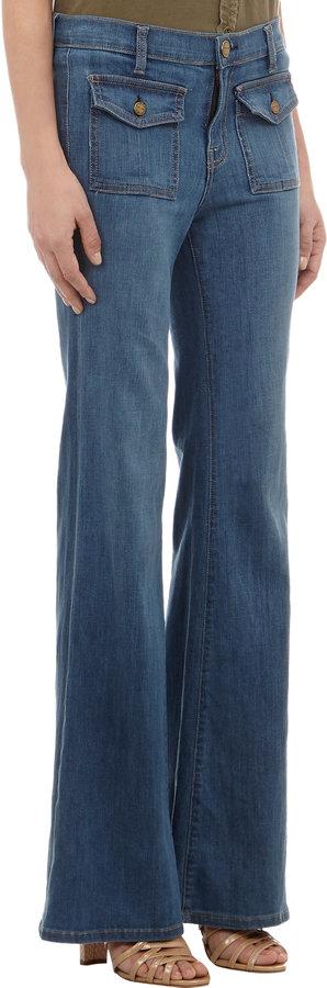 Current/Elliott High Waist Dixi Jeans - COOPER