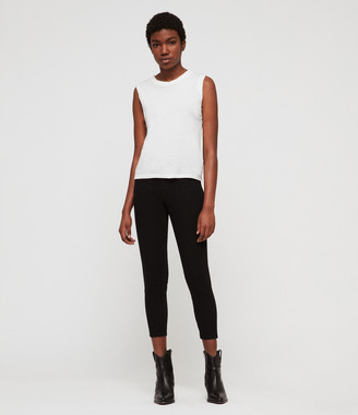 AllSaints Roxanne Bistretch Cropped Skinny Jeans