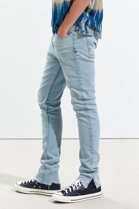 BDG Skinny Jean Split Hem Bluebell Wash