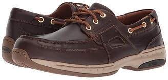 Dunham Captain Ltd (Tan) Men's Lace up casual Shoes
