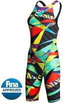TYR Avictor Prelude Female Open Back Kneeskin Tech Suit Swimsuit 8124538
