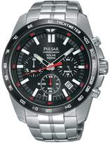 Pulsar PZ5005 Men's Solar Chronograph Wrist Watch