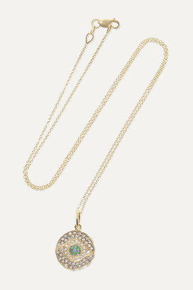 Ileana Makri Dawn Candy 18-karat Gold Multi-stone Necklace - one size